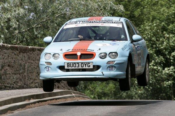 Tom BowenJim Clark Rally2006 British Rally ChampionshipKelso, ScotlandWorldwide copyright: Ebrey/LAT Photographic