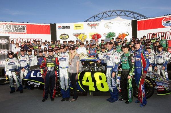 09-11 March 2007, Las Vegas, Nevada, USAHendrick Motorsports 150th race win©2007, LAT South, USALAT Photographic