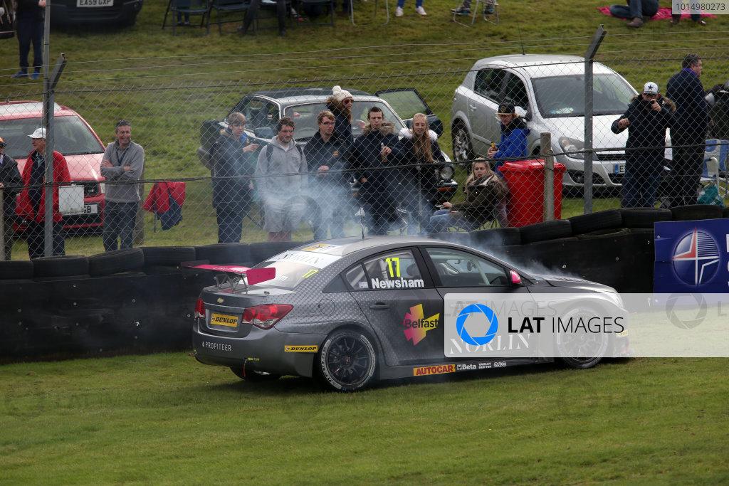 2017 British Touring Car Championship, Brands Hatch, Kent. 30th September - 1st October 2017, Dave Newsham (GBR) BTC Norlin Racing Chevrolet Cruze World copyright. JEP/LAT Images