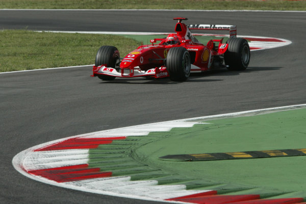 2003 Italian Grand Prix - Friday 1st Qualifying,
