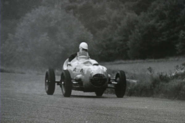1952 German Grand Prix.Nurburgring, Germany. 3 August 1952.Marcel Balsa (BMW Eigenbau). Ref-4679A #22A.World Copyright - LAT Photographic
