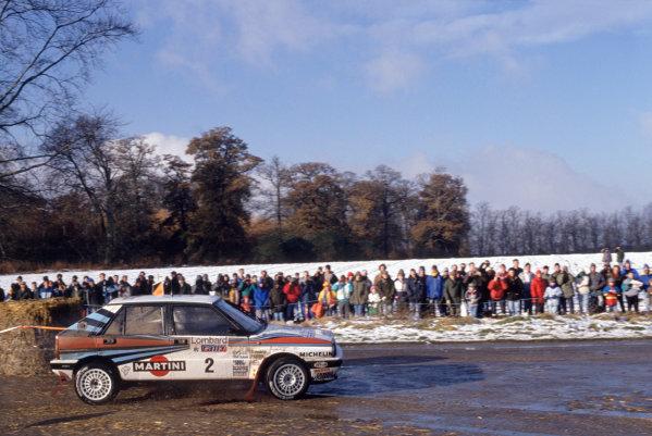 1988 World Rally Championship. Lombard RAC Rally. Great Britain. 20th - 24th November 1988. Rd 13. Markku Alen(Lancia Delta) 1st Position. World Copyright:LAT Photographic. Ref:35mm Image