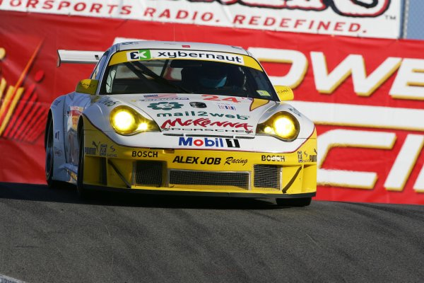 2004 American Le Mans Series (ALMS)Laguna Seca, California, USA. 15 - 16 October.Dumas and Lieb win GT.World Copyright: Richard Dole/LAT Photographicref: Digital Image Only