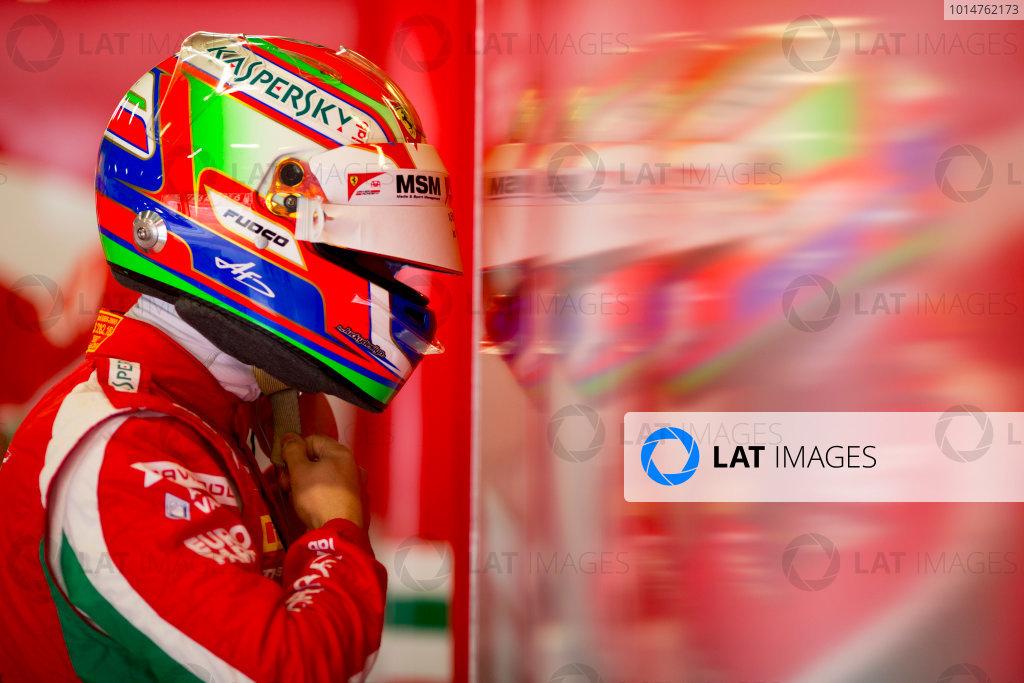Circuit de Barcelona Catalunya, Barcelona, Spain. Monday 13 March 2017. Antonio Fuoco (ITA, PREMA Racing).  Photo: Alastair Staley/FIA Formula 2 ref: Digital Image 580A8843