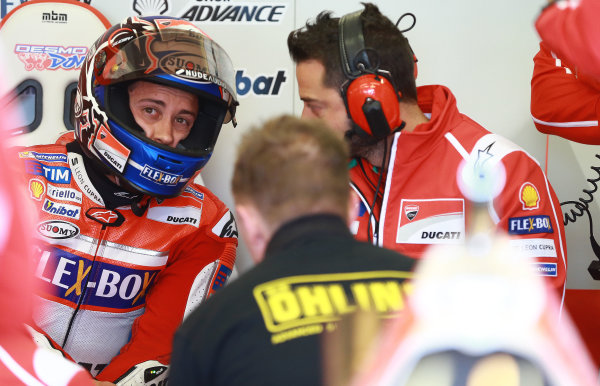 2017 MotoGP Championship - Round 5 Le Mans, France Saturday 20 May 2017 Andrea Dovizioso, Ducati Team World Copyright: Gold & Goose Photography/LAT Images ref: Digital Image 671042