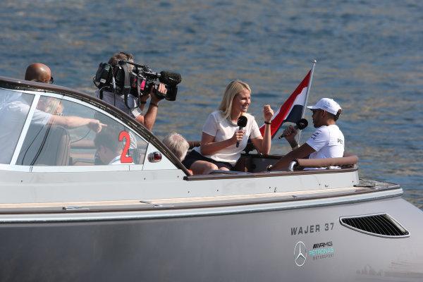 Monte Carlo, Monaco. Sunday 28 May 2017. Lewis Hamilton, Mercedes AMG.  World Copyright: Zak Mauger/LAT Images ref: Digital Image AN7T7738