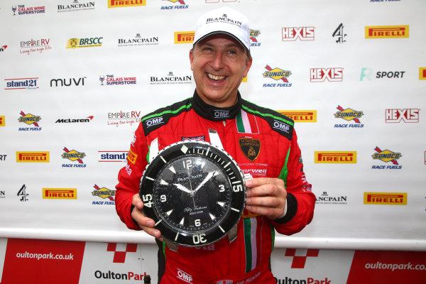 2017 British GT Championship, Oulton Park, 15th-17th April, 2017, Jon Minshaw -  Blancpain Driver  World copyright. JEP/LAT Images