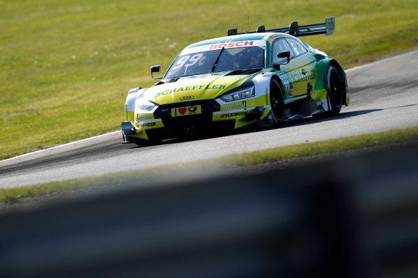 2017 DTM Round 2 Lausitzring, Germany. Friday 19 May 2017. Mike Rockenfeller, Audi Sport Team Phoenix, Audi RS 5 DTM World Copyright: Alexander Trienitz/LAT Images ref: Digital Image 2017-DTM-R2-ESL-AT1-0966