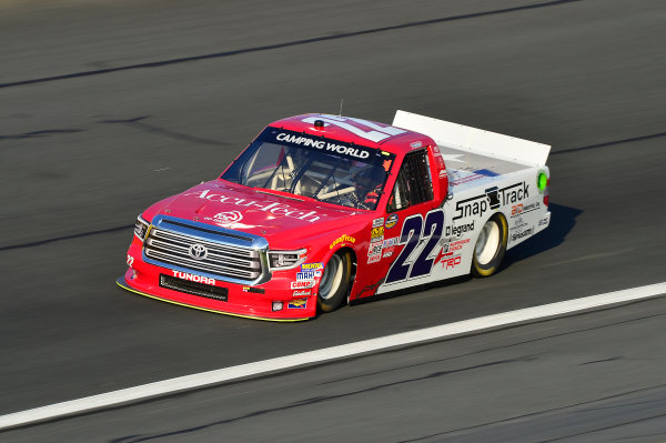 NASCAR Camping World Truck Series North Carolina Education Lottery 200 Charlotte Motor Speedway, Concord, NC USA Thursday 18 May 2017 Austin Self, Accu-Tech\Snap Track\Don't Mess With Texas Toyota Tundra World Copyright: John K Harrelson LAT Images ref: Digital Image 17CLT1jh_00404