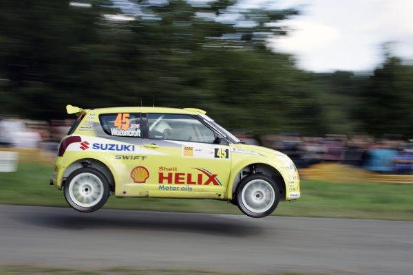 FIA World Rally Championship 2007Round 10Rally Deutschland, Germany.Trier, Germany.16th - 19th August 2007James Wozencroft, Suzuki, action.Worldwide Copyright: McKlein/LAT