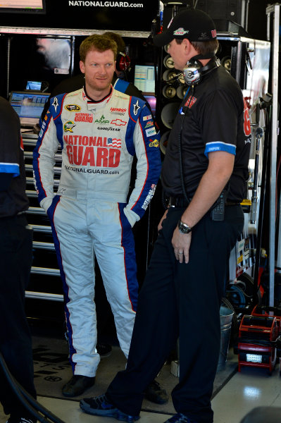 November 2-4, 2012 Fort Worth, Texas USA Dale Earnhardt Jr. and Steve Letarte.(c) 2012, LAT South LAT Photo USA .