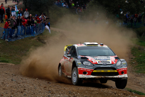 Round 04-Rally Portugal 28/3-1/4 2012. Martin Prokop, Ford WRC, ActionWorldwide Copyright: McKlein/LAT