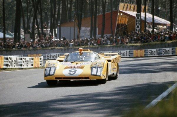 1971 Le Mans 24 hours. Le Mans, France. 12-13 June 1971. Hughes de Fierlandt/Alain de Cadenet (Ferrari 512M), retired. World Copyright: LAT Photographic Ref: 71LM11