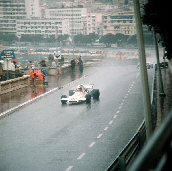 Monte Carlo, Monaco.11-14 May 1972.Wilson Fittipaldi (Brabham BT33 Ford).Ref-3/5067B.World Copyright - LAT Photographic