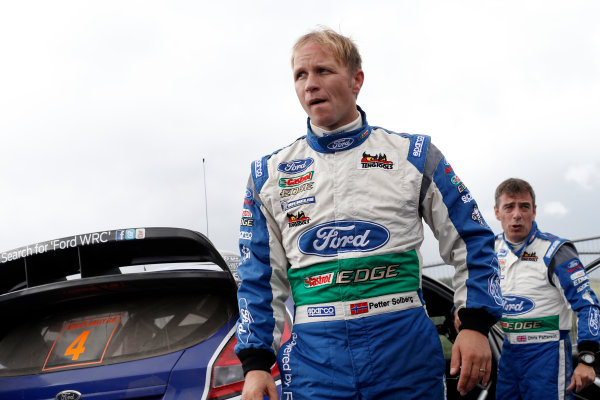 Round 10- Wales Rally GB 12-16/9- 2012.Petter Solberg, Ford WRC, Portrait.Worldwide Copyright: McKlein/LAT