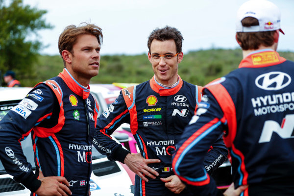 Hyundai team mates Thierry Neuville and Andreas Mikkelsen are best of friends away from WRC.