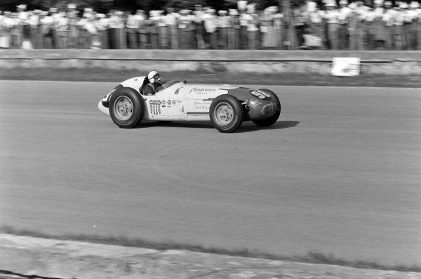 Johnnie Parsons, Agajanian Racing, Kuzma Offenhauser.