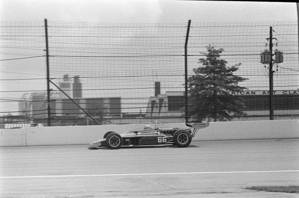 Mark Donohue, Penske Racing, Eagle 72 Offenhauser.