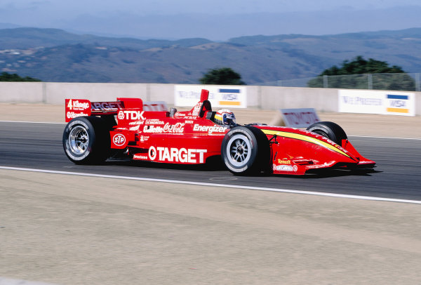 1997 PPG CART World Series.Laguna Seca, California, USA.6-7 September 1997. Alessandro Zanardi (Chip Ganassi Racing/Reynard 97i Honda) 3rd position.World Copyright - LAT Photographic