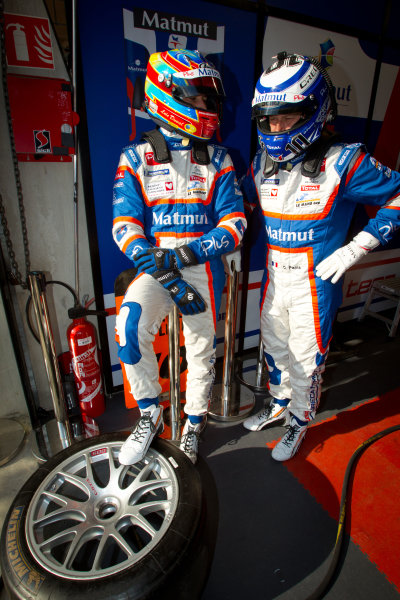 Loic Duval and Olivier Panis