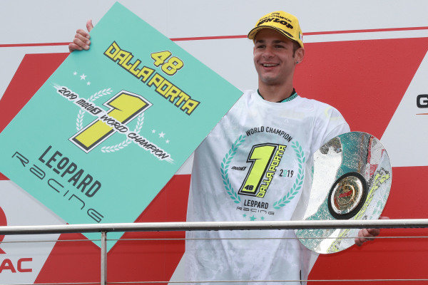 Podium: race winner Lorenzo Dalla Porta, Leopard Racing