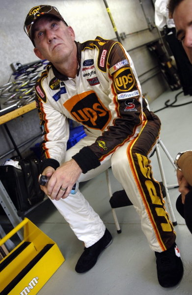 Dale Jarrett (USA), UPS Ford.NASCAR Nextel Cup, Rd21, Allstate 400, Indianapolis Motor Speedway, Indianapolis, USA. 7-8 August 2005.DIGITAL IMAGE