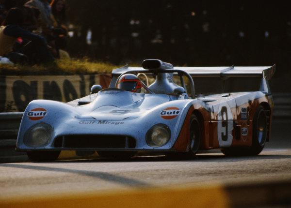 Mike Hailwood / John Watson / Vern Schuppan, Gulf Research Racing, Mirage M6 Ford.
