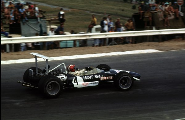 1969 South African Grand Prix.Kyalami, South Africa.27/2-1/3 1969.Jo Siffert (Lotus 49B Ford) 4th position.Ref-69 SA 02.World Copyright - LAT Photographic