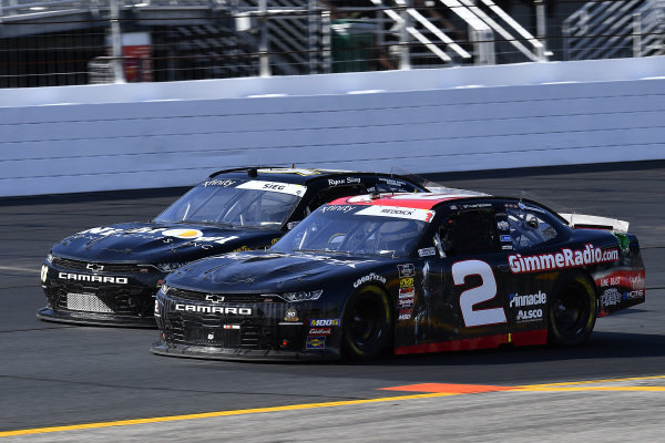 #2: Tyler Reddick, Richard Childress Racing, Chevrolet Camaro Gimme Radio / Megedeth