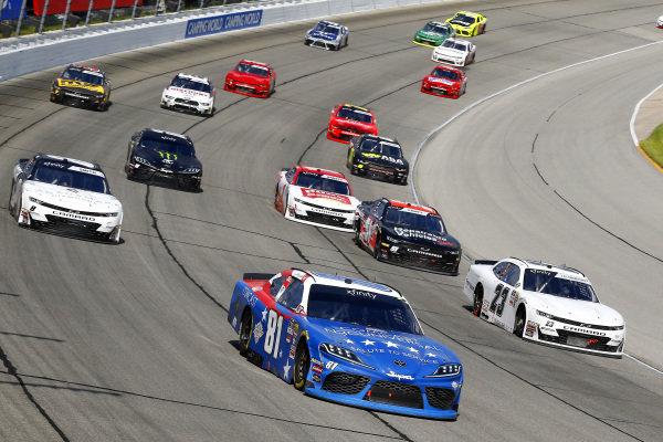 #81: Jeffrey Earnhardt, XCI Racing, Toyota Supra Comcast NBCUniversal Salute to Service
