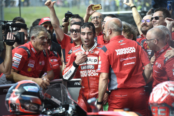 Race winner Danilo Petrucci, Ducati Team.