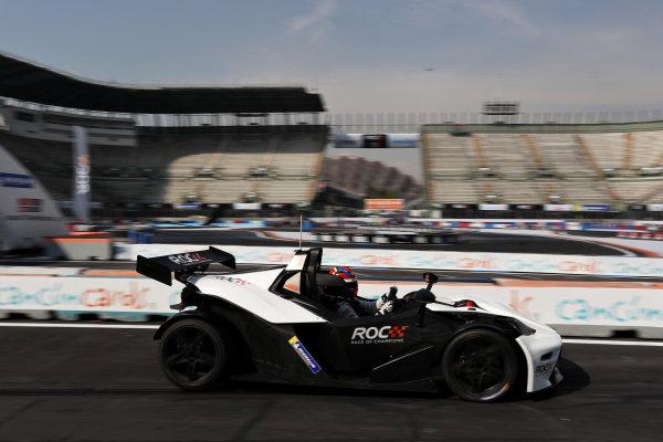 Loic Duval (FRA) driving the KTM X-Bow Comp R