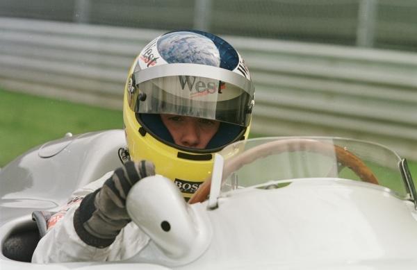 1998 Austrian Grand Prix.A1-Ring, Zeltweg, Austria.24-26 July 1998.Nick Heidfeld in a Mercedes-Benz W196.World Copyright - Charles Coates/LAT Photographic