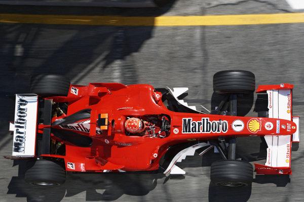 Michael Schumacher, Ferrari F2005.