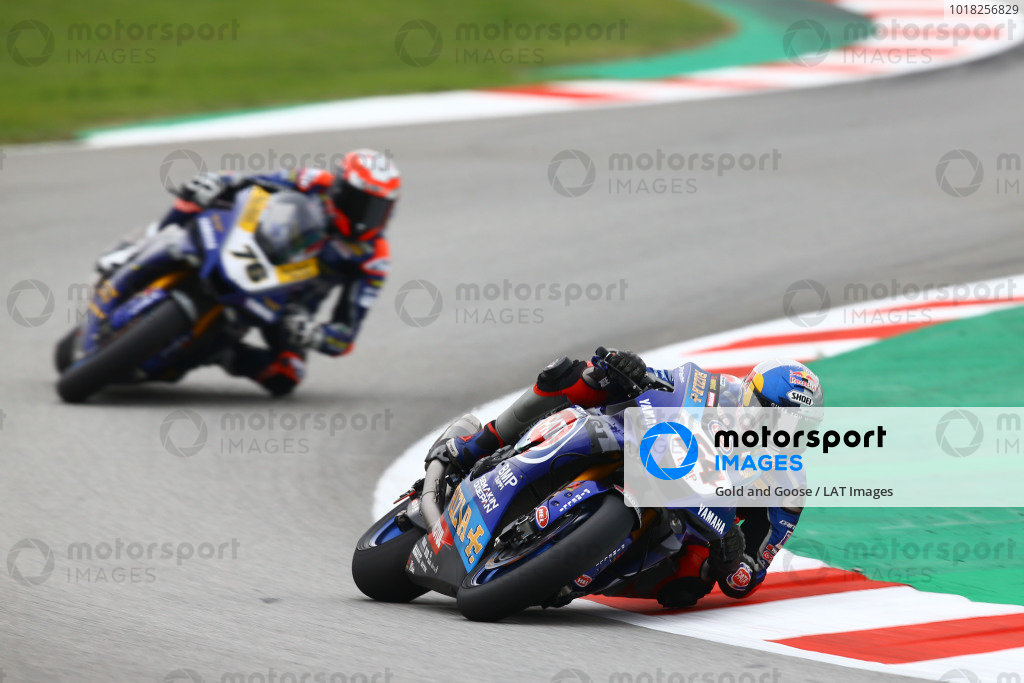 Toprak Razgatlioglu, Pata Yamaha, Loris Baz, Ten Kate Racing Yamaha.