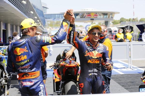 Tetsuta Nagashima, Red Bull KTM Ajo, Jorge Martin, Red Bull KTM Ajo.