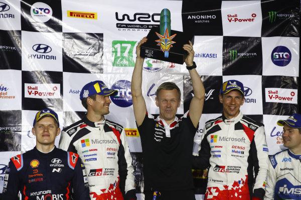 Sébastien Ogier (FRA), Julien Ingrassia (FRA), Kaj Lindström (FIN), Toyota Gazoo Racing WRT, Toyota Yaris WRC 2020