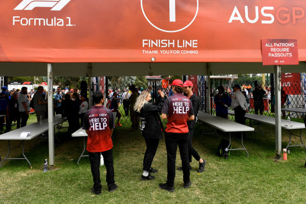 Australian GP helpers