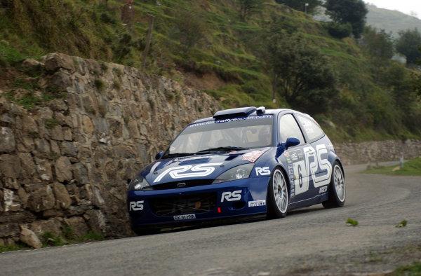 2002 World Rally Championship.Rallye d'Italia, 20-22 September.Sanremo, Italy.Markko Martin on Stage 7.Photo: Ralph Hardwick/LAT