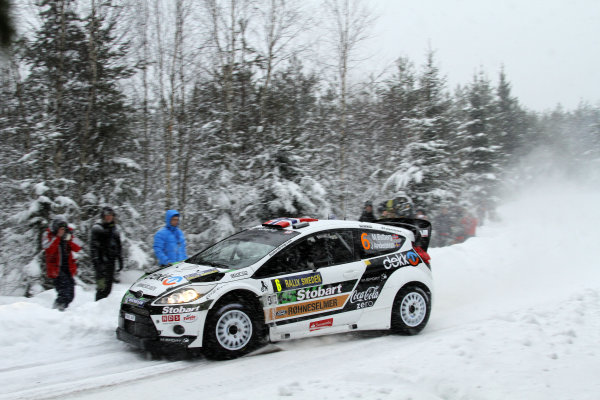 Round 01-Rally Sweden. 10th-13th February 2011.Mads Ostberg, Ford WRC, ActionWorldwide Copyright: McKlein/LAT