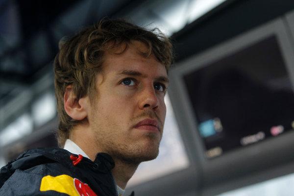 Suzuka Circuit, Suzuka, Japan. 9th October 2010. Sebastian Vettel, Red Bull Racing RB6 Renault. Portrait.  World Copyright: Andrew Ferraro/LAT Photographic ref: Digital Image _Q0C8969