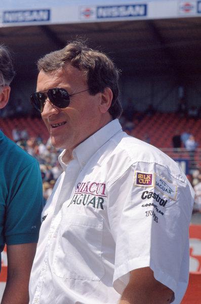1990 Le Mans 24 HoursLe Mans, France. 16th - 17th June.Tom Walkinshaw.World Copyright: Murenbeeld/LAT Photographicref: 35mm Transparency Image