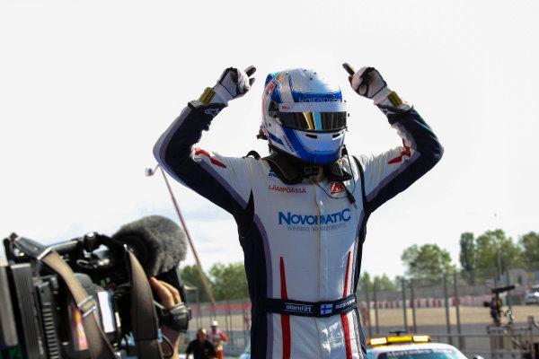 2013 GP3 Series. Round 1.  Circuit de Catalunya, Barcelona, Spain.  12th May Sunday Race 02 Aaro Vainio (  Portrait  World Copyright: Malcolm Griffiths/GP3 Media Service.  Ref: Digital ImageC76D5738.JPG