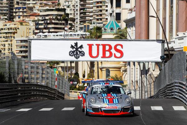 Monte Carlo, Monaco 26th May 2013 Sebastien Loeb, #88 Porsche AG.  World Copyright: Charles Coates/LAT Photographic ref: Digital Image _A8C5885