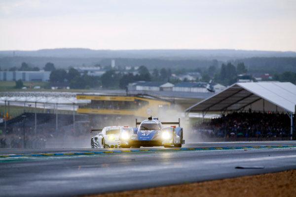 2016 Le Mans 24 Hours. Circuit de la Sarthe, Le Mans, France. KCMG / Oreca 05-Nissan - Tsugio Matsuda (JPN), Matthew Howson (GBR), Richard Bradley (GBR).  Thursday 16 June 2016 Photo: Adam Warner / LAT ref: Digital Image _L5R3525