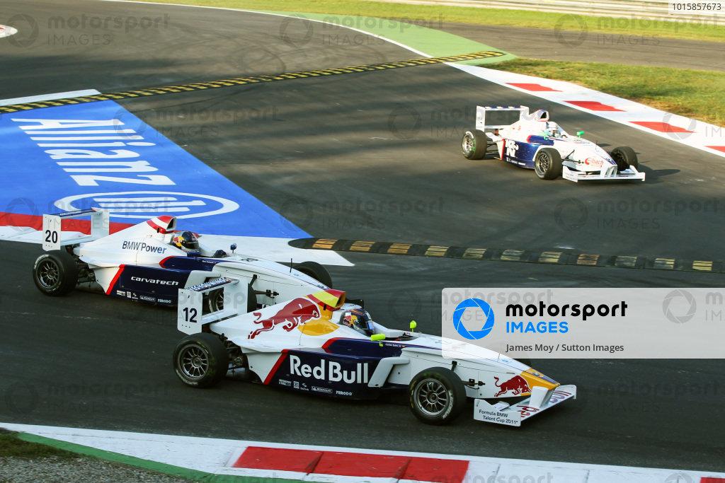 Carlos Sainz Jnr (ESP) Eurointernational. Formula BMW Europe, Rds 12 & 13, Monza, Italy, 10-12 September 2010.