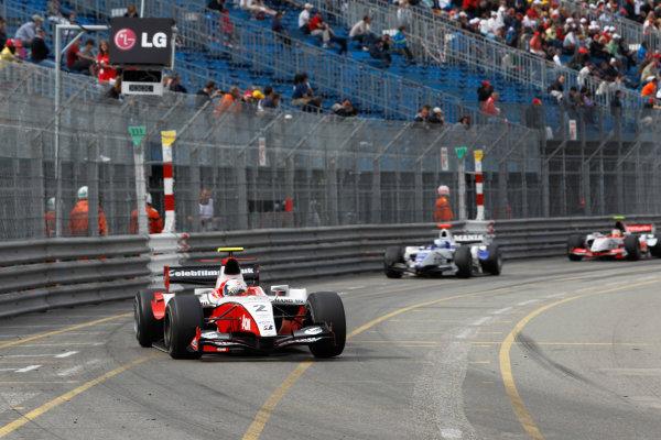 Monte Carlo, Monaco. 15th May 2010. Saturday Race.Sam Bird (GBR, ART Grand Prix). Action. Photo: Andrew Ferraro/GP2 Media Service.Ref: _Q0C7536 jpg