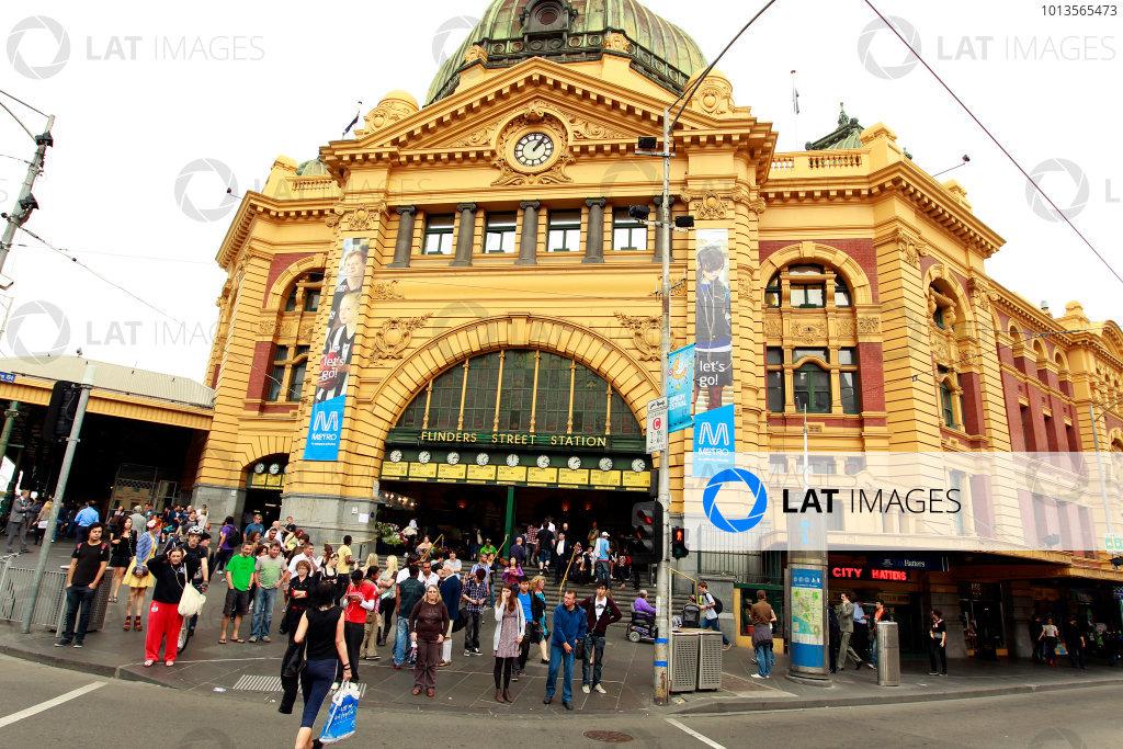 Albert Park, Melbourne, Australia22nd March 2011.World Copyright: Charles Coates/LAT Photographicref: Digital Image _X5J4951