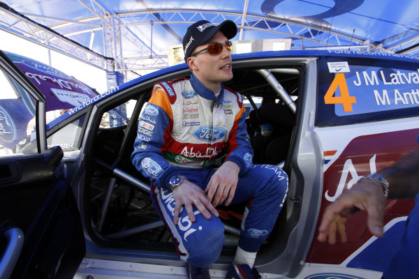 Round 04 Rally Jordan. 14th-16th April 2011.Jari-Matti Latvala, Ford WRC, Portrait.Worldwide Copyright: McKlein/LAT