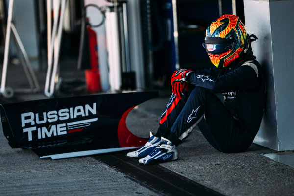 2016 GP2 Series Testing. Jerez, Spain. Thursday 31 March 2016 Artem Markelov (RUS) RUSSIAN TIME  World Copyright: Malcolm Griffiths/LAT Photographic. ref: Digital Image _G7C9413
